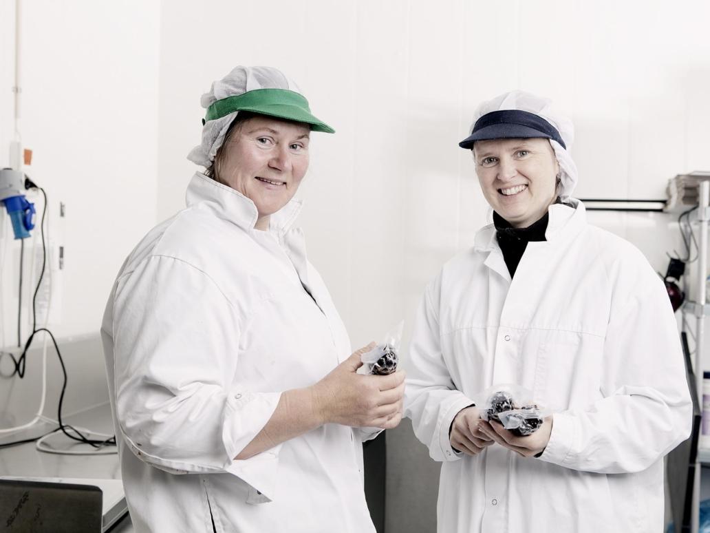 Produksjonen hos Rørosrein. Foto: Tom Gustavsen